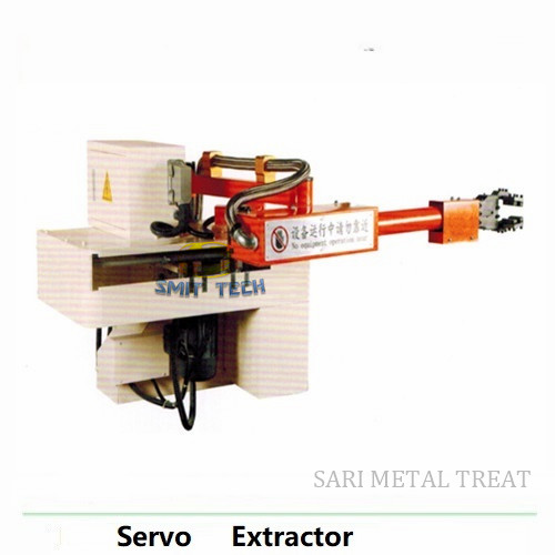 Servo Extractor pick up machine