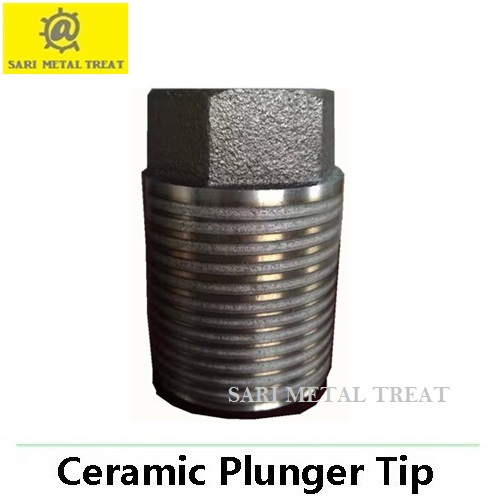 Ceramic plunger tips