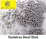 Stainless steel shot