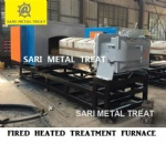 Metal heating furnace
