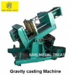 Aluminum gravity casting machine