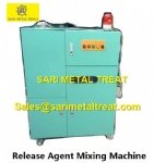 Release agent mixing machine